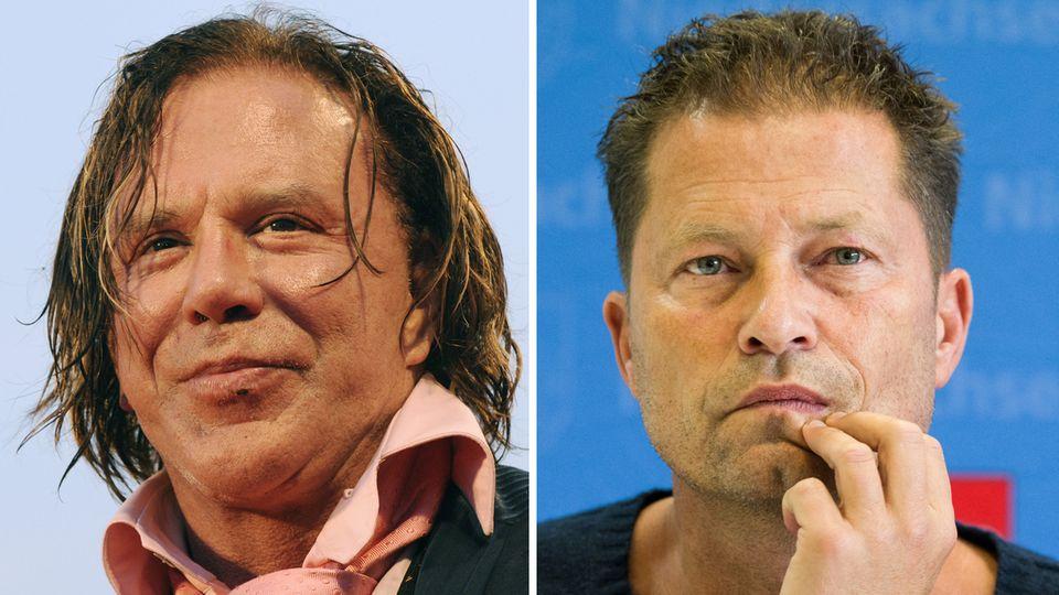 Micky Rourke lobt Til Schweiger