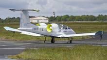 Der E-Fan von Airbus hatte bereits mehr als 100 Flüge absolviert, geht aber doch nicht in Serienproduktion.