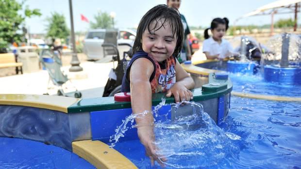 Dieses Jahr wurde der neue Wasserpark Morgan's Inspiration Island eröffnet