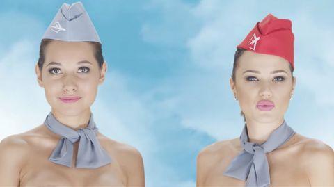 Kasachstan: Reiseportal wirbt mit nackten Stewardessen