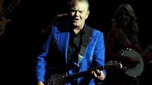 Country-Star Glen Campbell bei einem Auftritt in Las Vegas