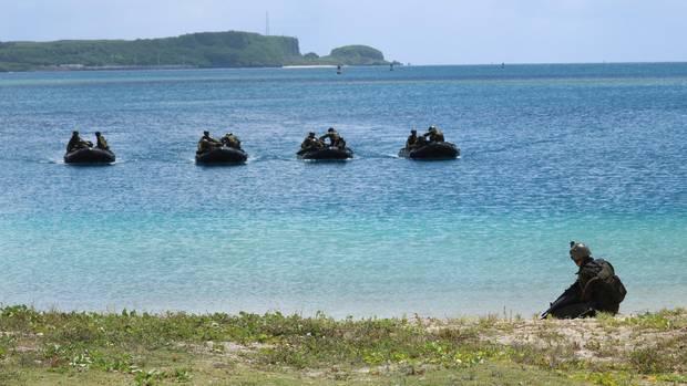 Nordkorea droht mit Angriff auf amerikanische Insel Guam class=