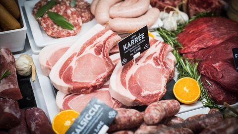 """""""Kumpel&Keule"""" ist eine Metzgerei. Trotzdem sagt der Betreiber, dass man nicht jeden Tag Fleisch essen muss."""