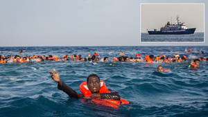 Defend Europe: Rechte Aktivisten wollen Flüchtlingsboote im Mittelmeer stoppen