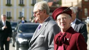 Prinz Henrik von Dänemark mit Königin Margarethe II