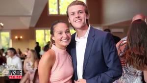Das junge Paar crashte eine Party