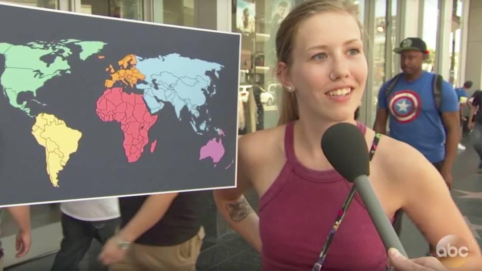 Jimmy Kimmel Show: Umfrage - Wo liegt eigentlich Nordkorea?