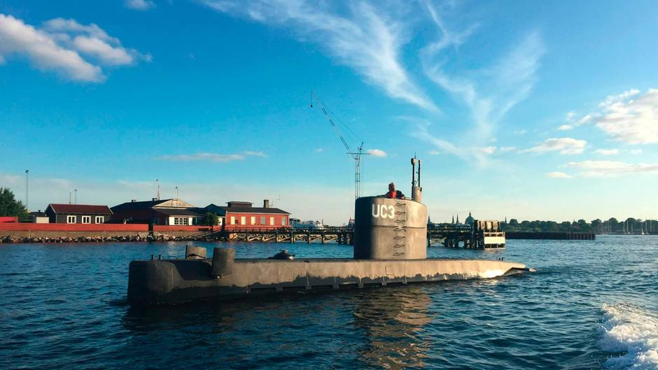 Vermisste Passagierin: Kapitän von privatem U-Boot kommt in U-Haft