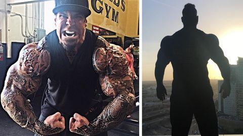 Der Bodybuilder Rich Piana schlug Kapital aus seinem Körper. Nun liegt er im Koma.