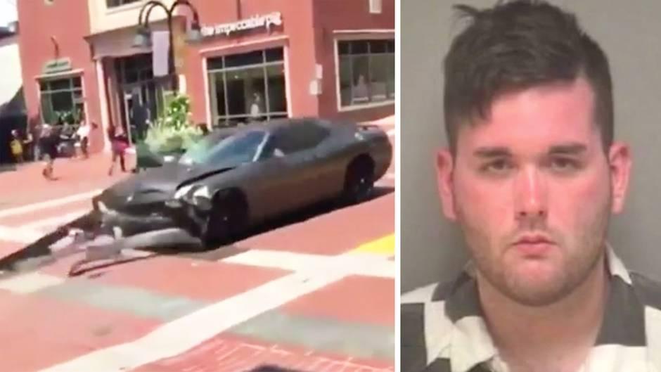 Charlottesville: Auto rast in Menschenmenge - Tote bei Unruhen in US-Stadt