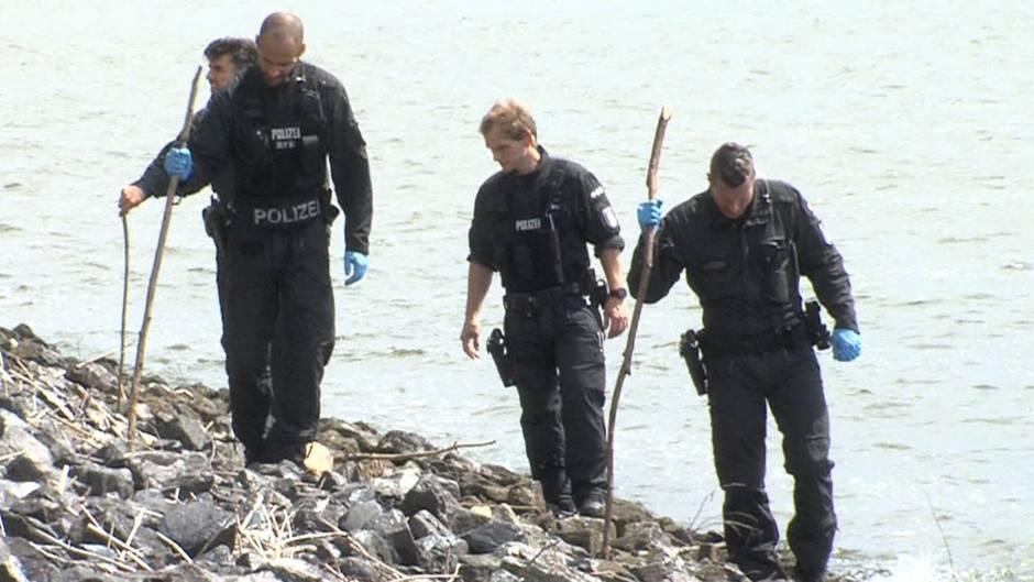 Zerstückelte Leiche in Hamburger Kanal: Weitere Teile gefunden