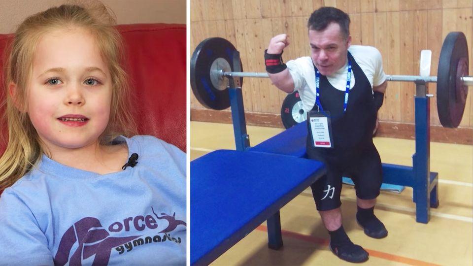 Richard Willis: Kleinwüchsiger will als Gewichtheber zu Olympia - aus Liebe zu seiner Tochter