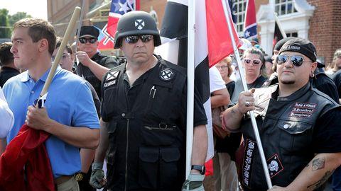 Zu der rechtsextremen Kundgebung in Charlottesville hatte auch die Alt-Right-Bewegung aufgerufen