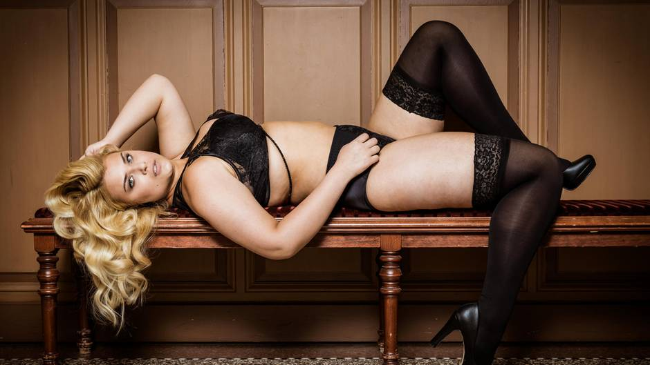 finest selection 72339 ee54a Curvy Supermodels: Heißes Dessous-Shooting - die Models ...
