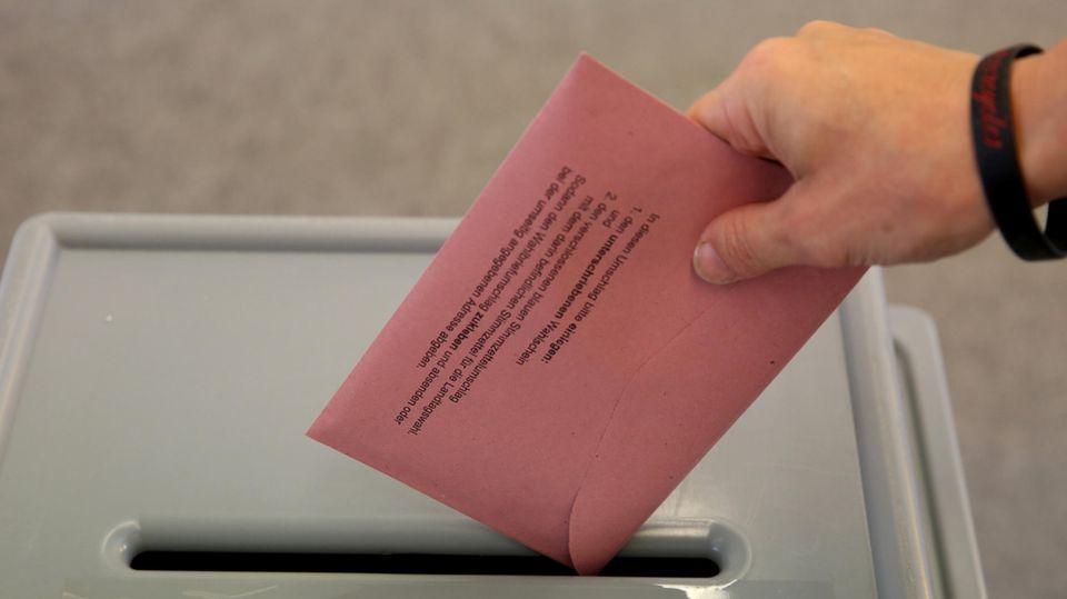 Wahl 2017 Briefwahl