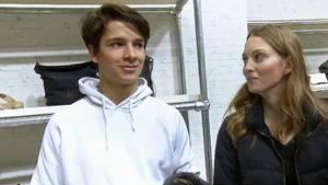 Robin und Jasmin bei ihrem ersten gemeinsamen Casting: Klappt es mit diesem Job?