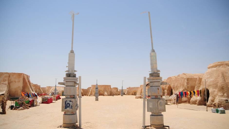 """""""Star Wars""""-Kulissen in Tunesien: Hoffen auf die Rückkehr der Jedi-Ritter"""