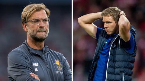 Champions-League-Playoffs-Duell zwischen der TSG 1899 Hoffenheim und dem FC Liverpool