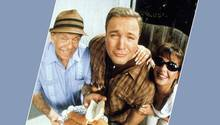 """Jerry Stiller, Kevin James und Leah Remini standen in """"King of Queens"""" jahrelang zusammen vor der Kamera."""