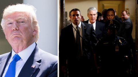 Robert Swan Mueller III (r., Mitte) hat als FBI-Direktor Terroristen bekämpft. Jetzt ermittelt er im Auftrag des Staates gegen Trumps Wahlkampfteam, Trumps Familie und den Präsidenten selbst