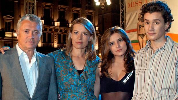 """Mit Henry Hübchen, Barbara Rudnik und Sergej Moya, 2006, Filmtitel: """"Gib jedem seinen eigenen Tod"""""""