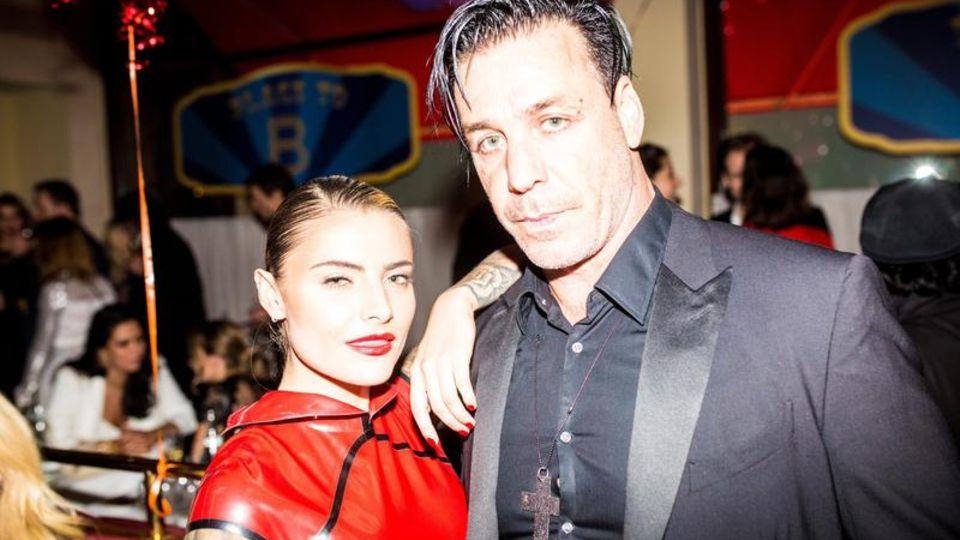 Sophia Thomalla mit Exfreund Till Lindemann auf der Berlinale 2016