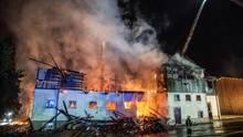 Nachrichten Deutschland - Großbrand auf Gestüt