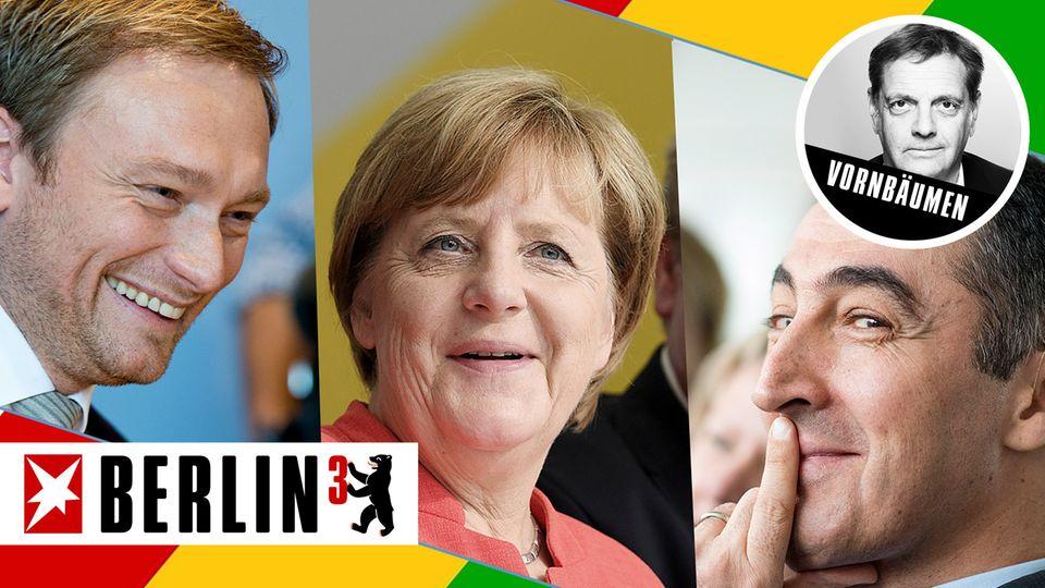 Berlin³: Warum Merkels Union lieber Jamaika will - und nicht nochmal eine Große Koalition