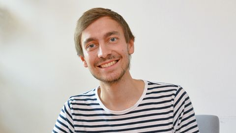 """""""Einfach nur dankbar"""": Adrian Magnucki (25) wurden vor einem Jahr im Uniklinkum Jena vier neue Organe eingesetzt"""