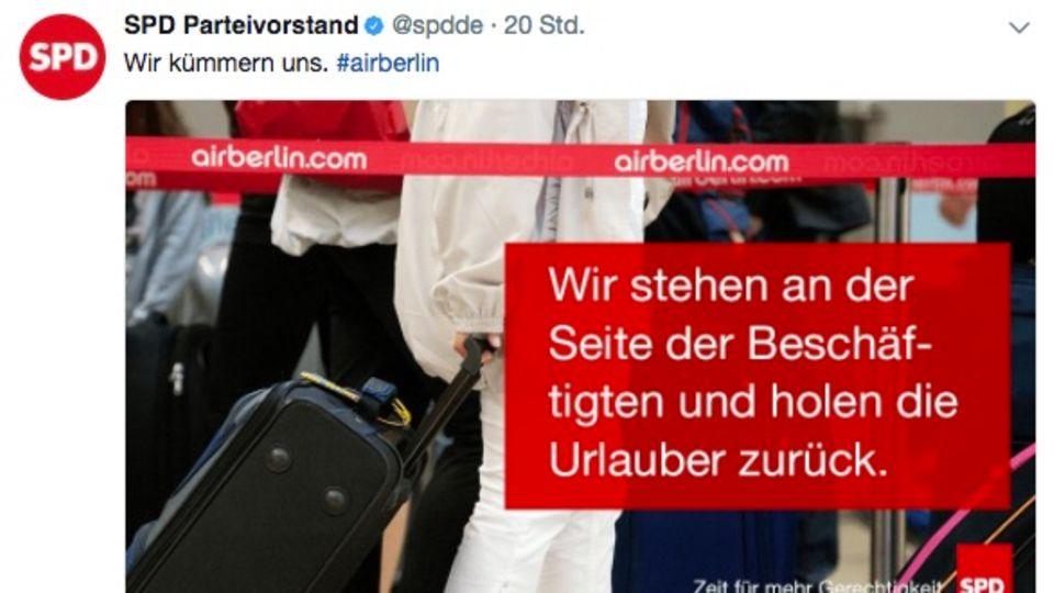 Insolvenz: Air-Berlin-Piloten melden sich krank - Airline muss zahlreiche Flüge streichen