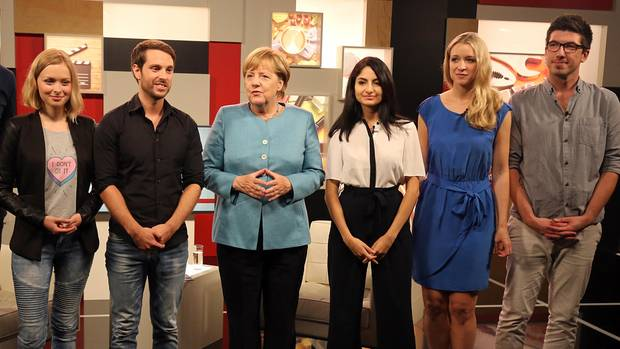Youtube-Interview Angela Merkel