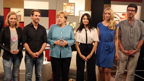 Youtube-Interview Angela Merkel