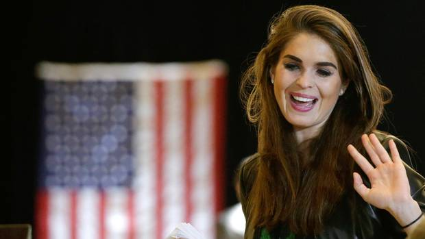 Donald Trumps neue Kommunikationschefin Hope Hicks (Archivbild)