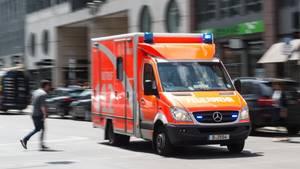 nachrichten deutschland krankenwagen fürth