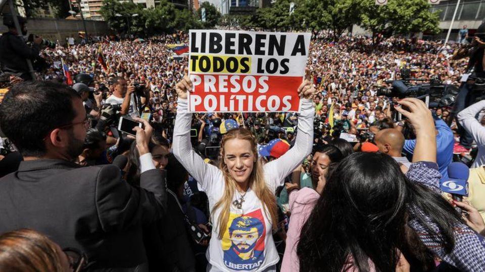 Venezuela: Lilian Tintori – Das Gesicht des Widerstands