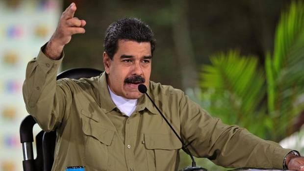 Präsident Nicolás Maduro bei einer Ansprache am vergangenen Wochenende