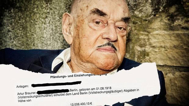 """Filmproduzent Artur """"Atze"""" Brauner: Der alte Mann und die Steuer"""