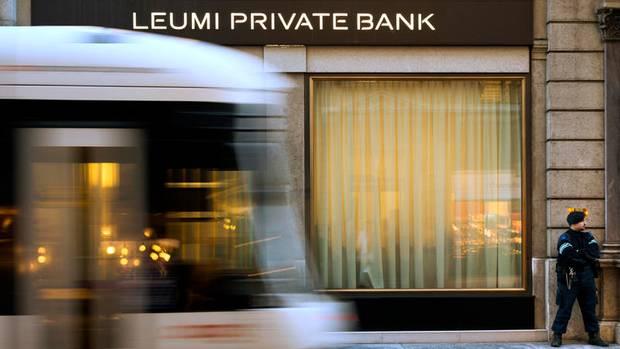 Konten in der Schweiz: Brauners Bank Leumi