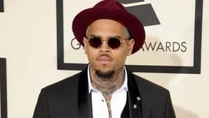 Chris Brown bei der 57. Verleihung der Grammy Awards in Los Angeles