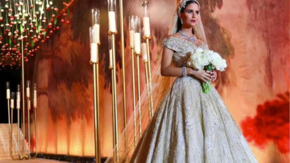 Dana Wolley Zayat: Die Anfertigung dieses Brautkleides dauerte mehr als ein Jahr