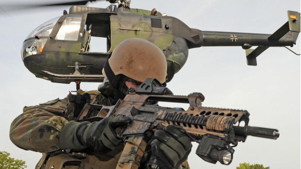 In den Vorfall sollen Bundeswehrsoldaten des Kommandos Spezialkräfte verwickelt sein