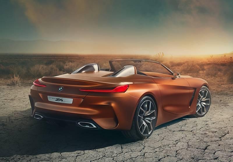 BMW Concept Z4 2017 - technisch eng mit dem Toyota Supra verwandt