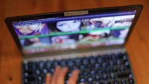 Die pornographische Website YouPorn, hier geöffnet auf einem Rechner