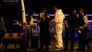 Polizei im Einsatz in Cambrils: Nur kurz nach dem Anschlag in Barcelona wurde hier eine zweite Terrorattacke verhindert.