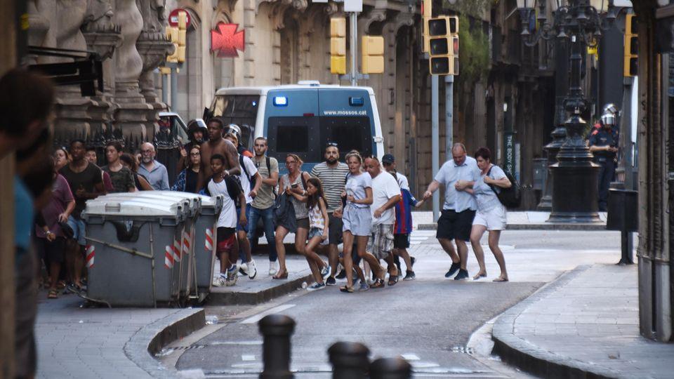 Terror in Barcelona - Chronik des Anschlags