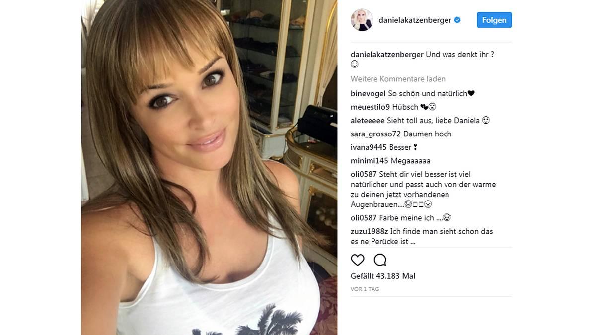 Leute Von Heute Daniela Katzenberger überrascht Mit Neuer Frisur