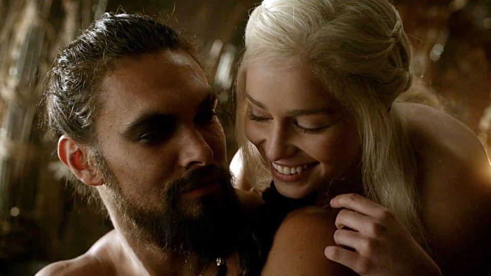 Zeigt sich nur noch selten hüllenlos: Drachenmutter Daenerys.