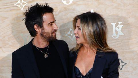 """Justin Theroux: Jennifer Aniston bringt ihn """"oft zum Lachen"""""""