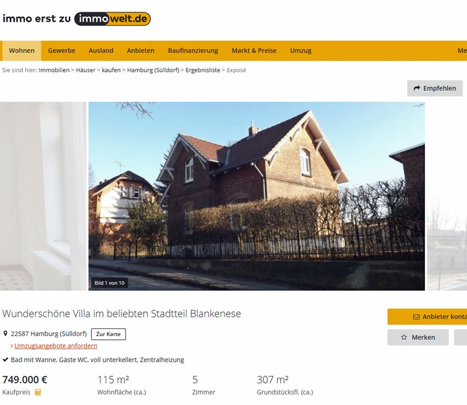 Verrückter Wohnungsmarkt: Bahnwärterhäuschen heißt jetzt Villa und soll 750.000 Euro kosten