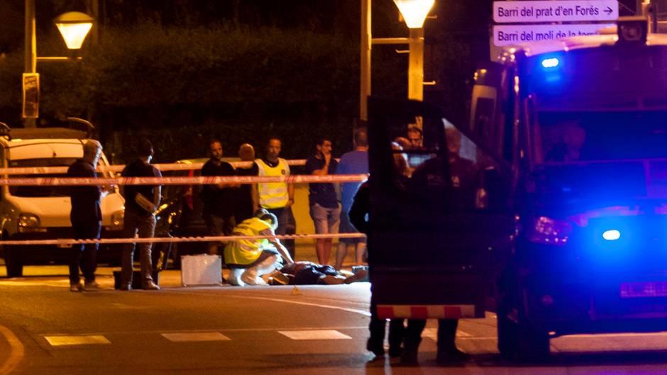Anschläge in Spanien: Augenzeugen filmten in der Terrornacht in Cambrils
